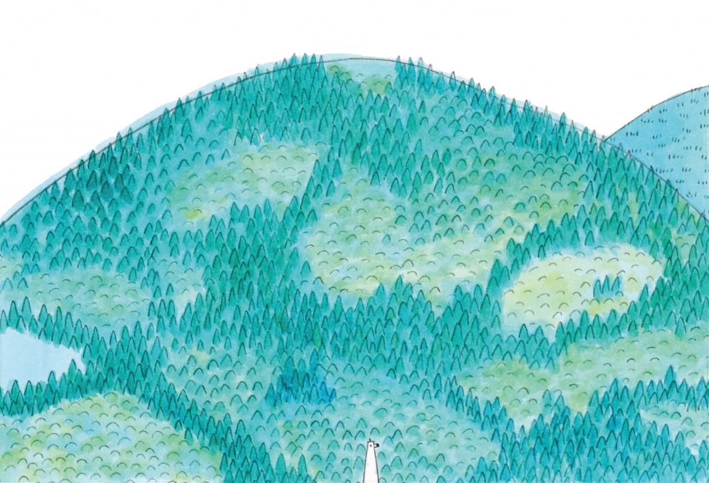 山と水とぼく